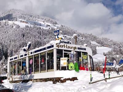 Verleihshop Sport Schiestl, Schwendau in Horbergbahn Talstation - Kohlstatt 260