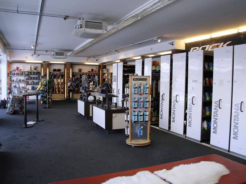 Verleihshop SPORT 2000 Zell am See, Hypolithstrasse 7 in Zell am See