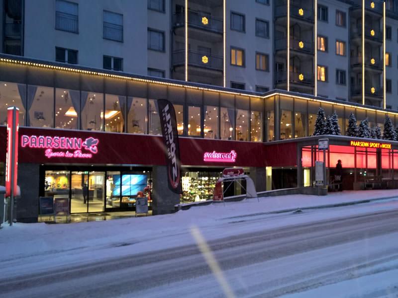 Verleihshop Paarsenn Sports, Im Hotel Seehof, Promenade 159 in Davos-Dorf
