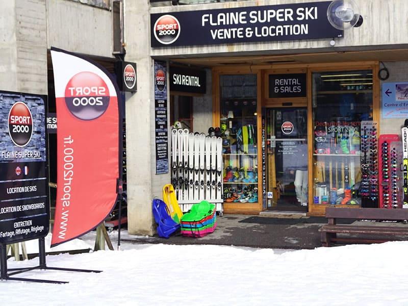 Verleihshop FLAINE SUPER SKI, Immeuble Aldébaran in Flaine