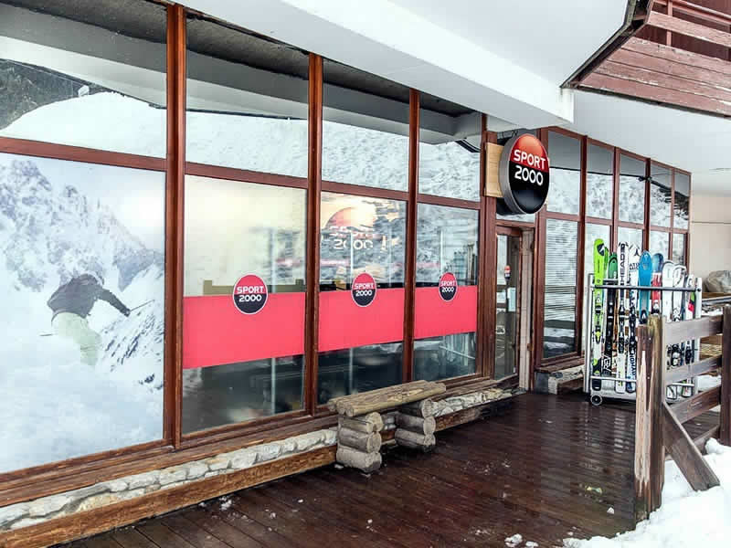 Verleihshop WHITE STORM, Immeuble Le Grand Bois in La Tania