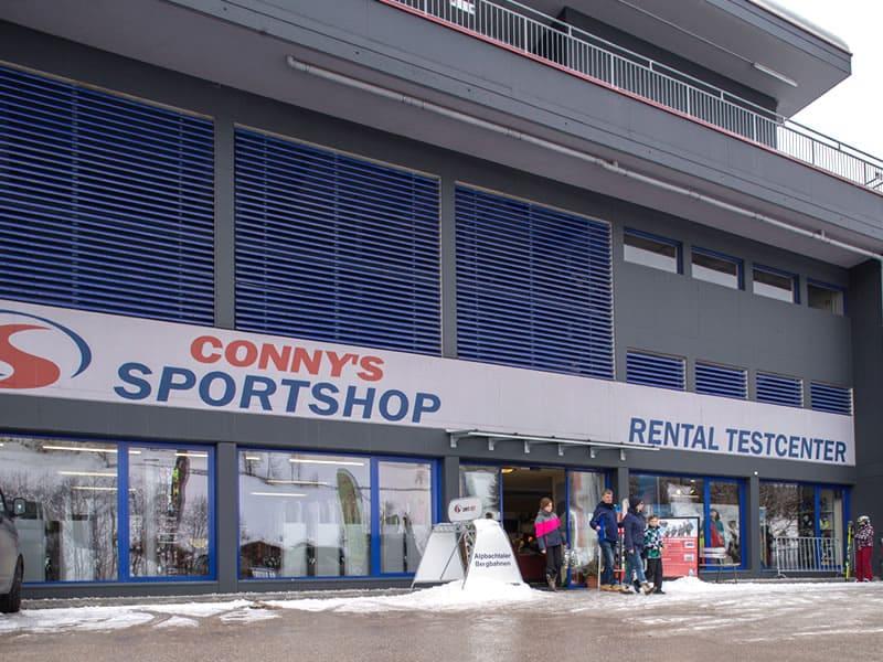 Verleihshop Sport Conny's, Inneralpbach 553 [Talstation Pöglbahn] in Alpbach