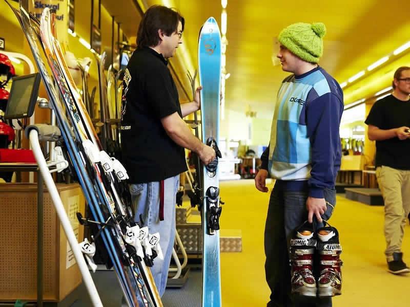 Verleihshop Takeoff Snow + Fun Center, Komperdell Mittelstation in Serfaus