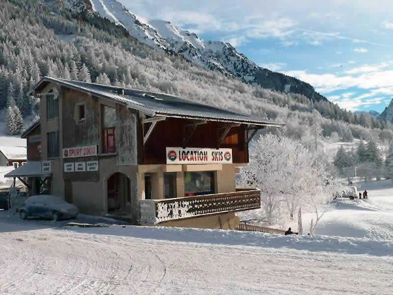 Verleihshop LOULOU SPORTS, La Blache in Alpe du Grand Serre