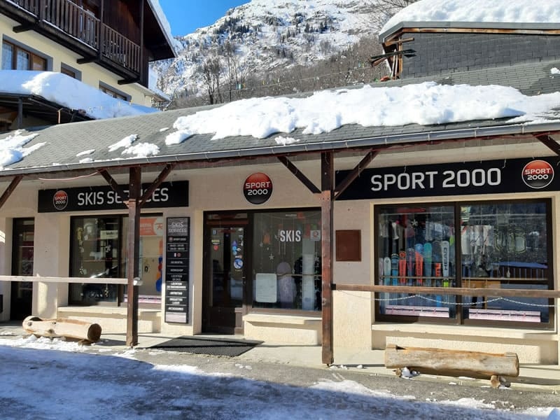 Verleihshop SKIS SERVICES, Le chef Lieu in Saint Colomban-Villards