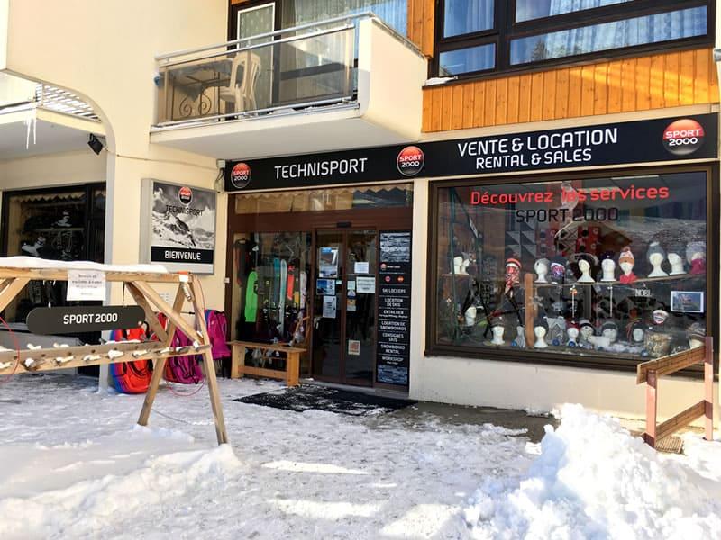 Ski hire shop TECHNISPORT, Les 7 Laux-Prapoutel in Les Adrets