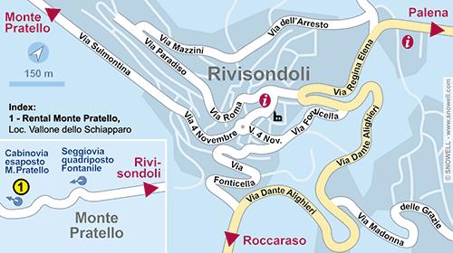 Lageplan Rivisondoli