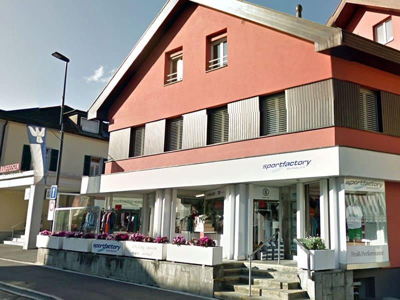 Verleihshop Sportfactory Dumoulin, Maienfelderstrasse 4 in Bad Ragaz