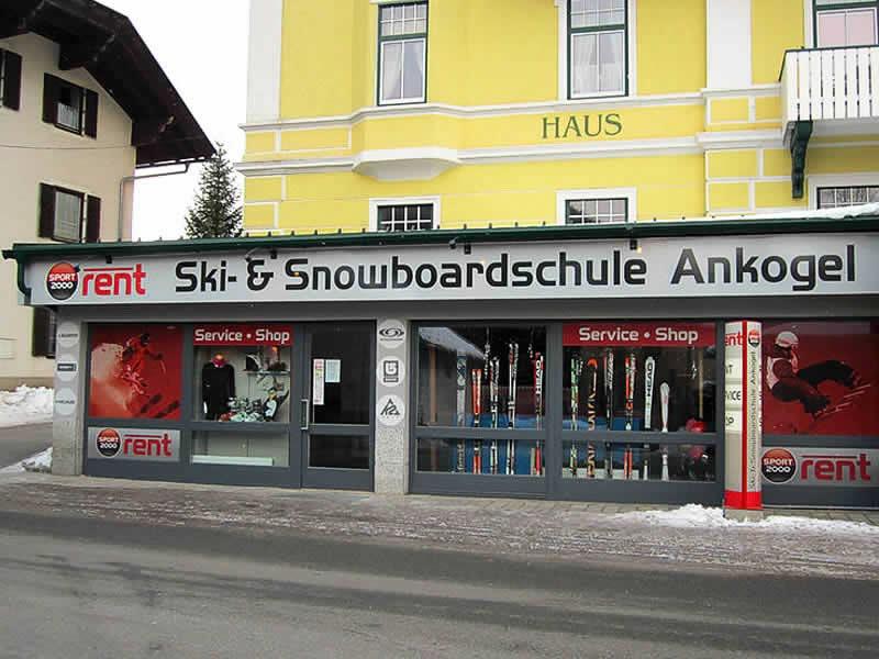 Verleihshop Schischule Ankogel, Mallnitz 41 in Mallnitz