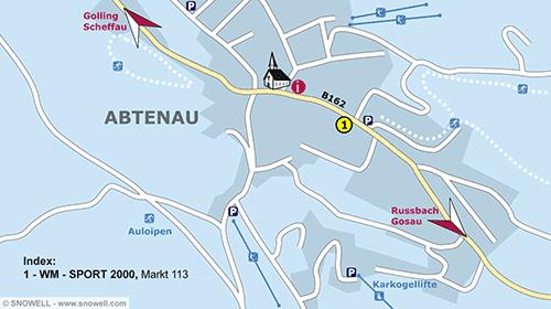 Lageplan Abtenau
