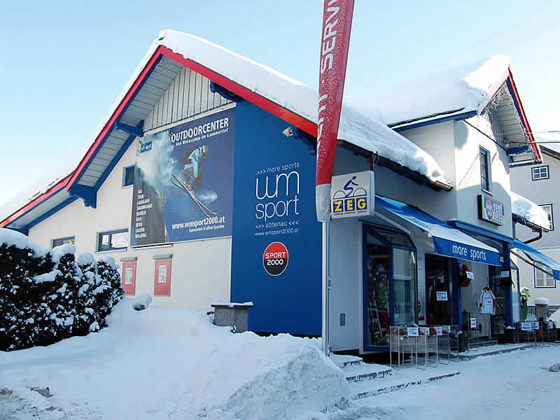 Verleihshop WM - SPORT 2000, Markt 113 in Abtenau