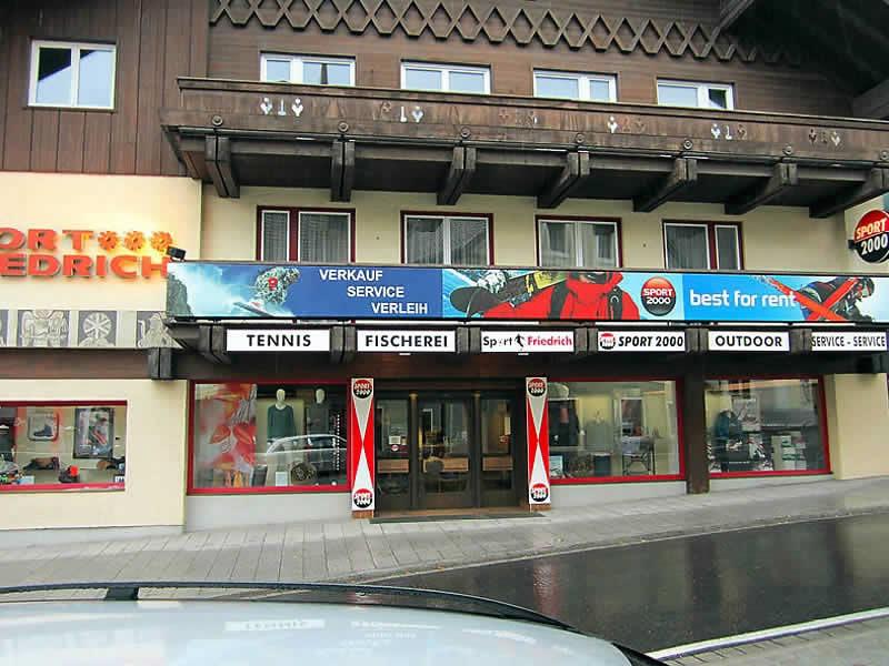 Verleihshop SPORT 2000 Friedrich, Marktstrasse 3 in St. Michael