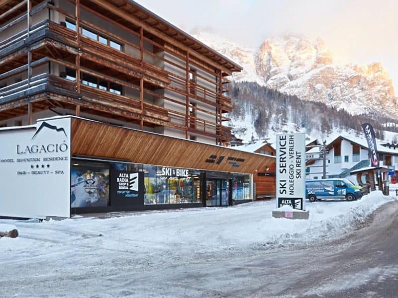 Verleihshop Alta Badia Shop & Rental, Micurá de Rü 48 in Alta Badia-San Cassiano/Sankt Kassian