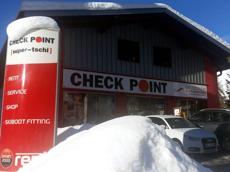 Verleihshop Checkpoint Wassermann, Nauders 246 in Nauders