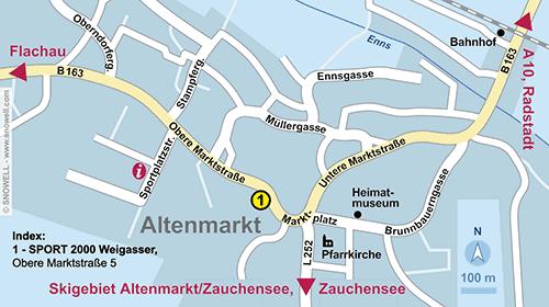 Lageplan Altenmarkt