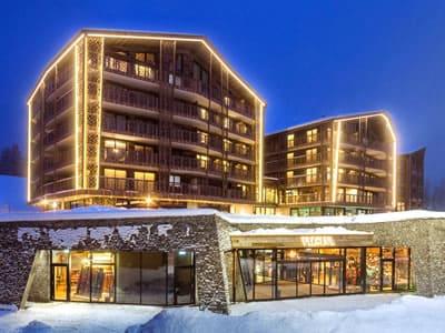 Verleihshop Gisler Sport, Arosa in Oberseepromenade 2 - Valsana Hotel und Appartement