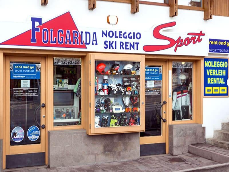 Verleihshop FOLGARIDA SPORT, P.le Folgarida, 4/5 in Folgarida
