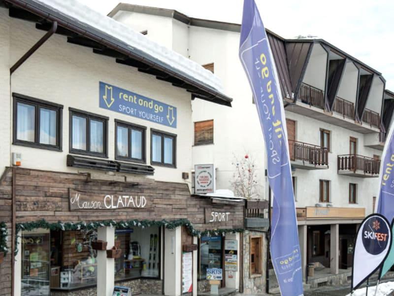 Verleihshop Maison Clataud Sport, Piazza Assietta, 16 in Sauze d'Oulx