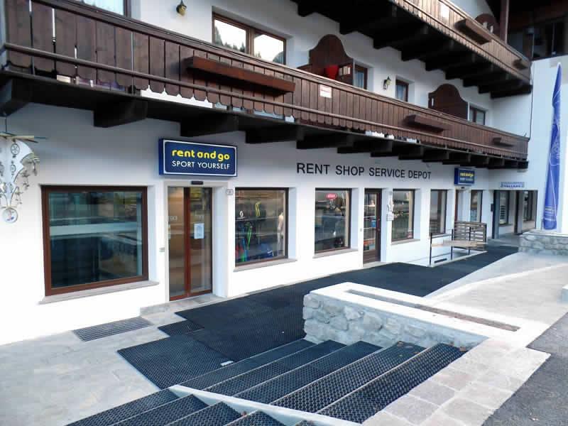 Verleihshop Rent and Go Falcade in Piazzale Molino 10, Falcade