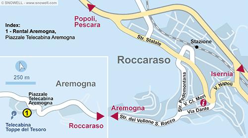 Lageplan Roccaraso