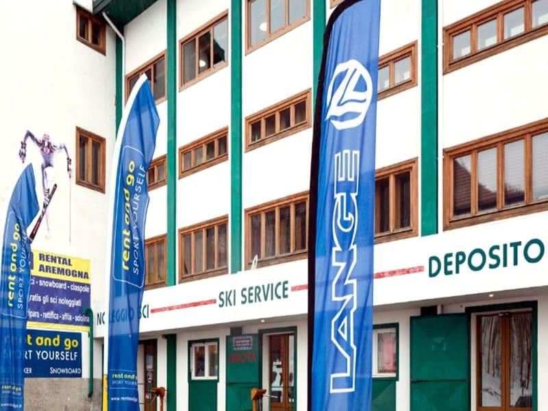 Verleihshop Rental Aremogna, Piazzale Telecabina Aremogna in Roccaraso
