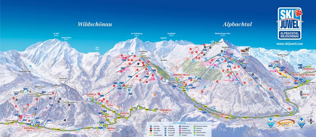 Skimap Alpbach