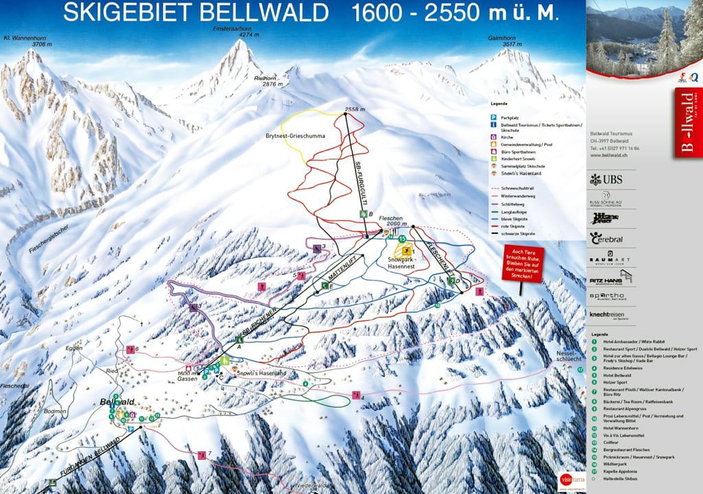 Skimap Bellwald