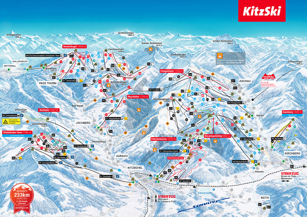 Skigebiet Jochberg