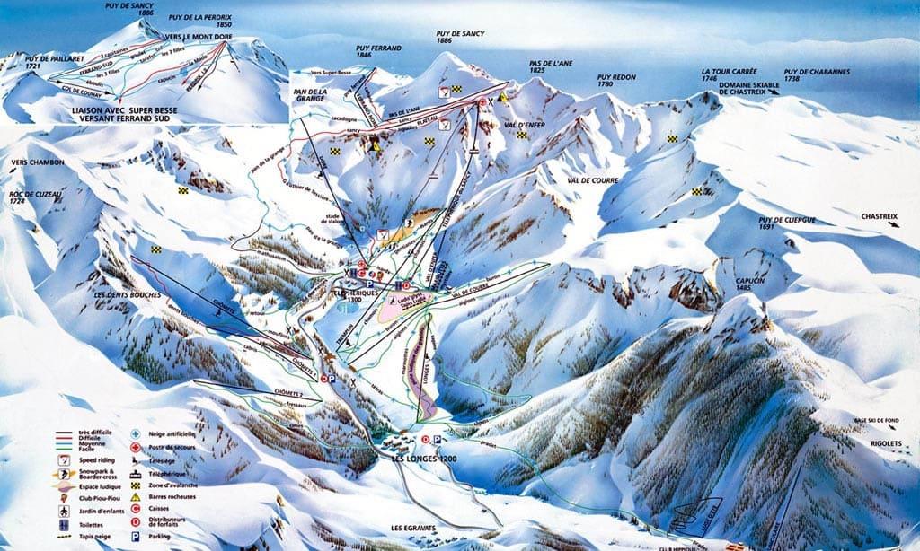 Skimap Le Mont Dore
