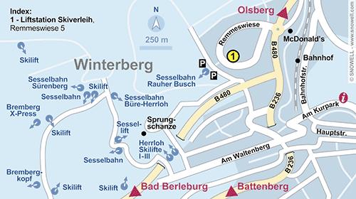 Lageplan Winterberg
