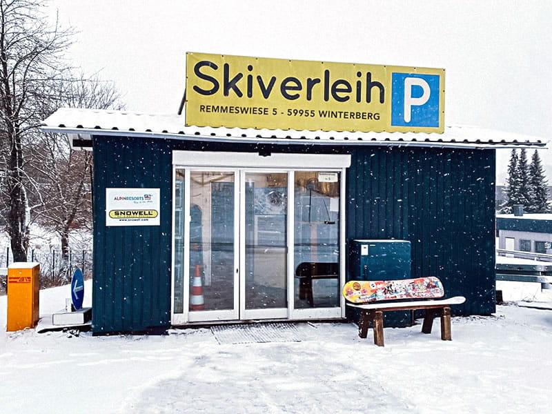 Verleihshop Liftstation Skiverleih, Remmeswiese 5 in Winterberg