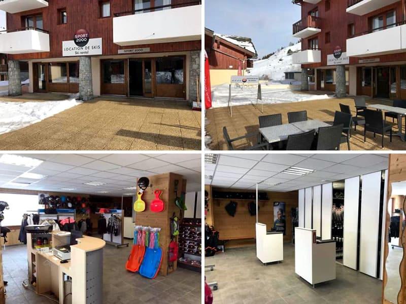 Verleihshop SPORT 2000 GP2 LOC, Résidence le Grand Panorama II - Quartier de La Saussette in Valmeinier 1800