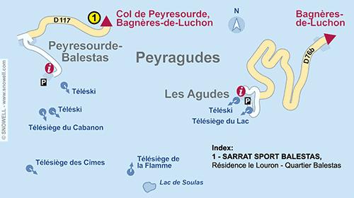 Lageplan Peyragudes