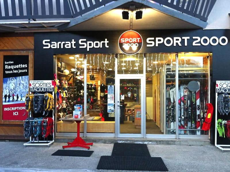 Verleihshop SARRAT SPORT BALESTAS, Résidence le Louron - Quartier Balestas in Peyragudes