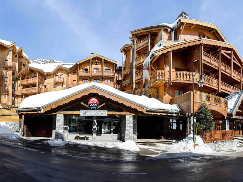 Verleihshop VAL LOC 2400, Résidence Val 2400 - Les Balcons in Val Thorens