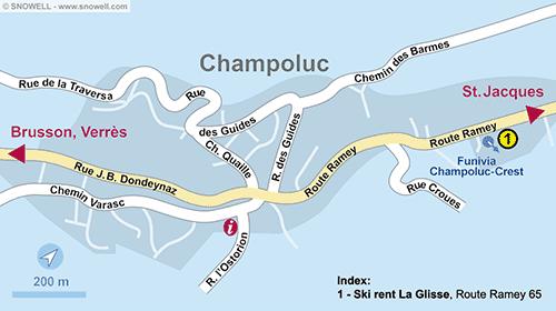 Lageplan Champoluc