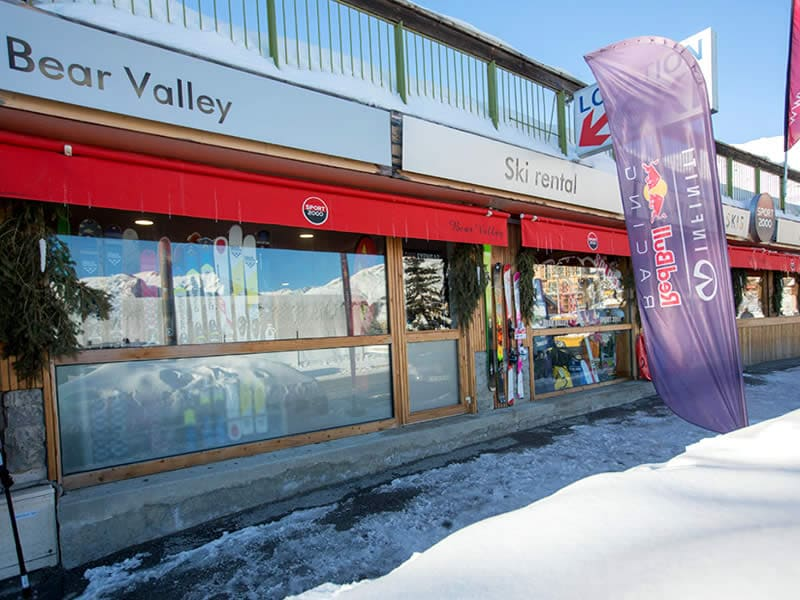 Verleihshop BEAR VALLEY, Rue des Ecrins - Centre Station in Orcieres Merlettes