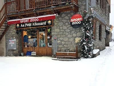 Verleihshop Au Petit Allossard, Allos in Rue du Pré de Foire