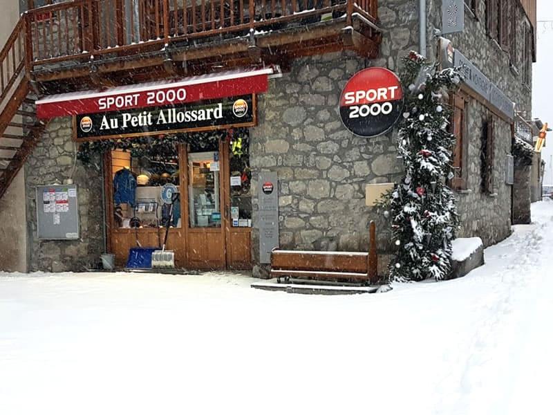 Verleihshop Au Petit Allossard, Rue du Pré de Foire in Allos