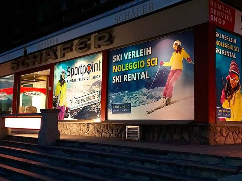 Verleihshop Rent and Go Sexten - Moos, Sankt-Josef-Straße 15 – Via San Giuseppe, 15 in Sexten