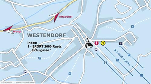 Lageplan Westendorf