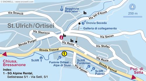Lageplan St. Ulrich