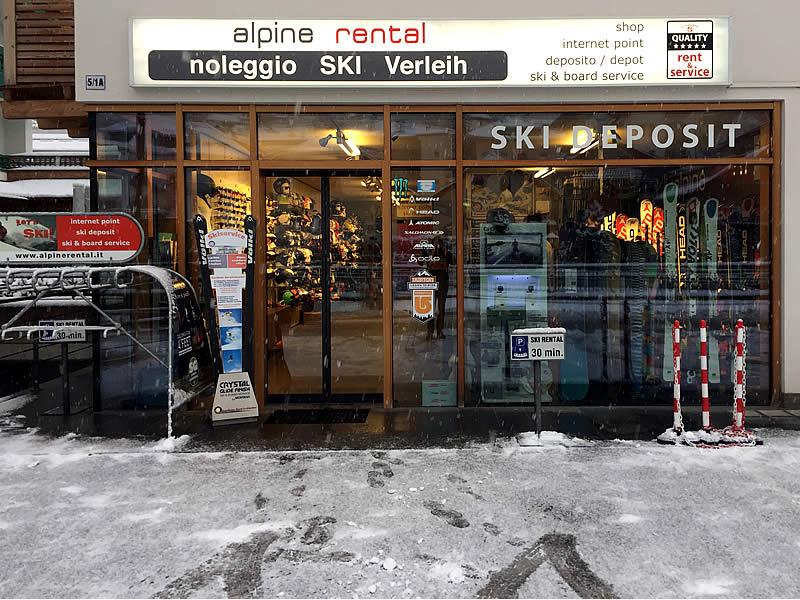 Verleihshop SG Alpine Rental, Setilstrasse 5/1 - Via Setil, 5/1 in St. Ulrich