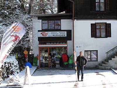 Verleihshop Sportshop Rudigier, Schruns in Silvrettastrasse 5