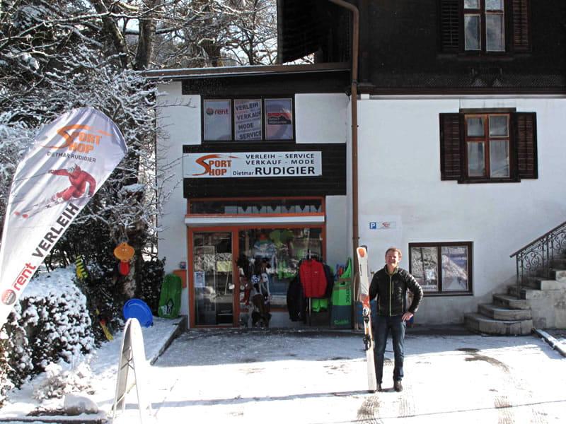 Verleihshop Sportshop Rudigier, Silvrettastrasse 5 in Schruns