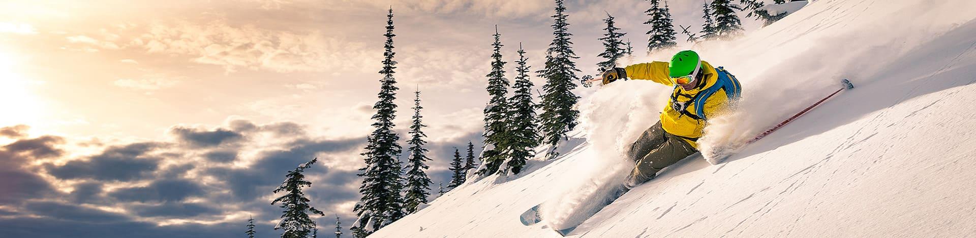 Skifahren mit den Neuheiten und Trends 2019