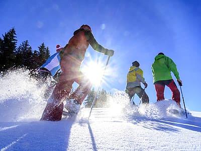 Schneeschuhwandern - Schneeschuhwanderung