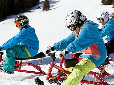Snowbiken NTC Park Nebelhorn