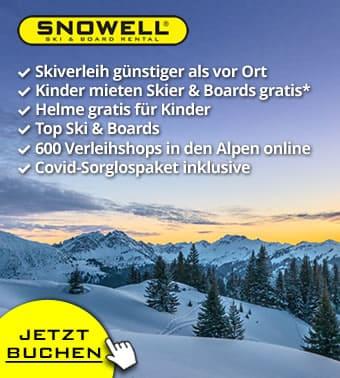 Jetzt: Gratis Storno und Umbuchung ❄️👍🏻❄️ für alle Buchungen für Winter 2021/2022 ❄️👍🏻❄️ Skiverleih online mit SNOWELL