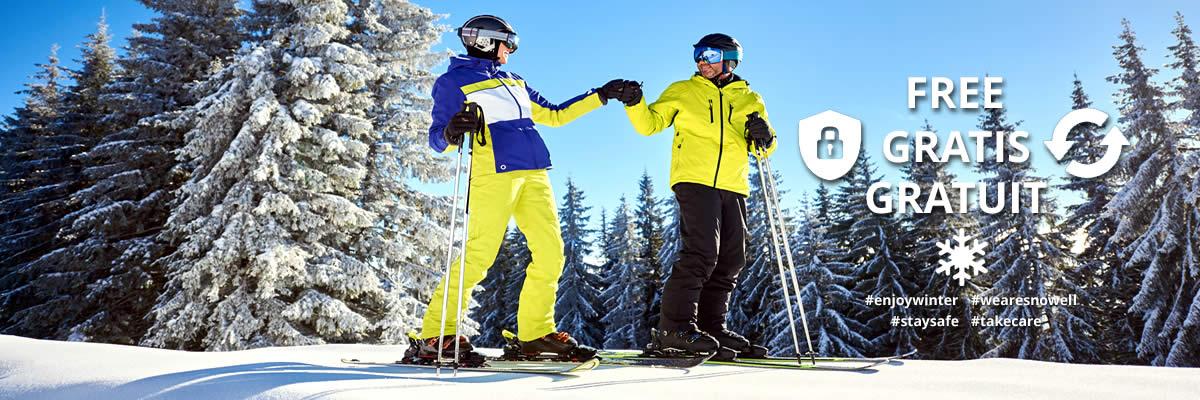 SNOWELL Covid-Sorglospaket - gratis Storno & Umbuchung